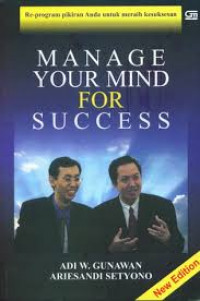 Image of Manage your mind for success